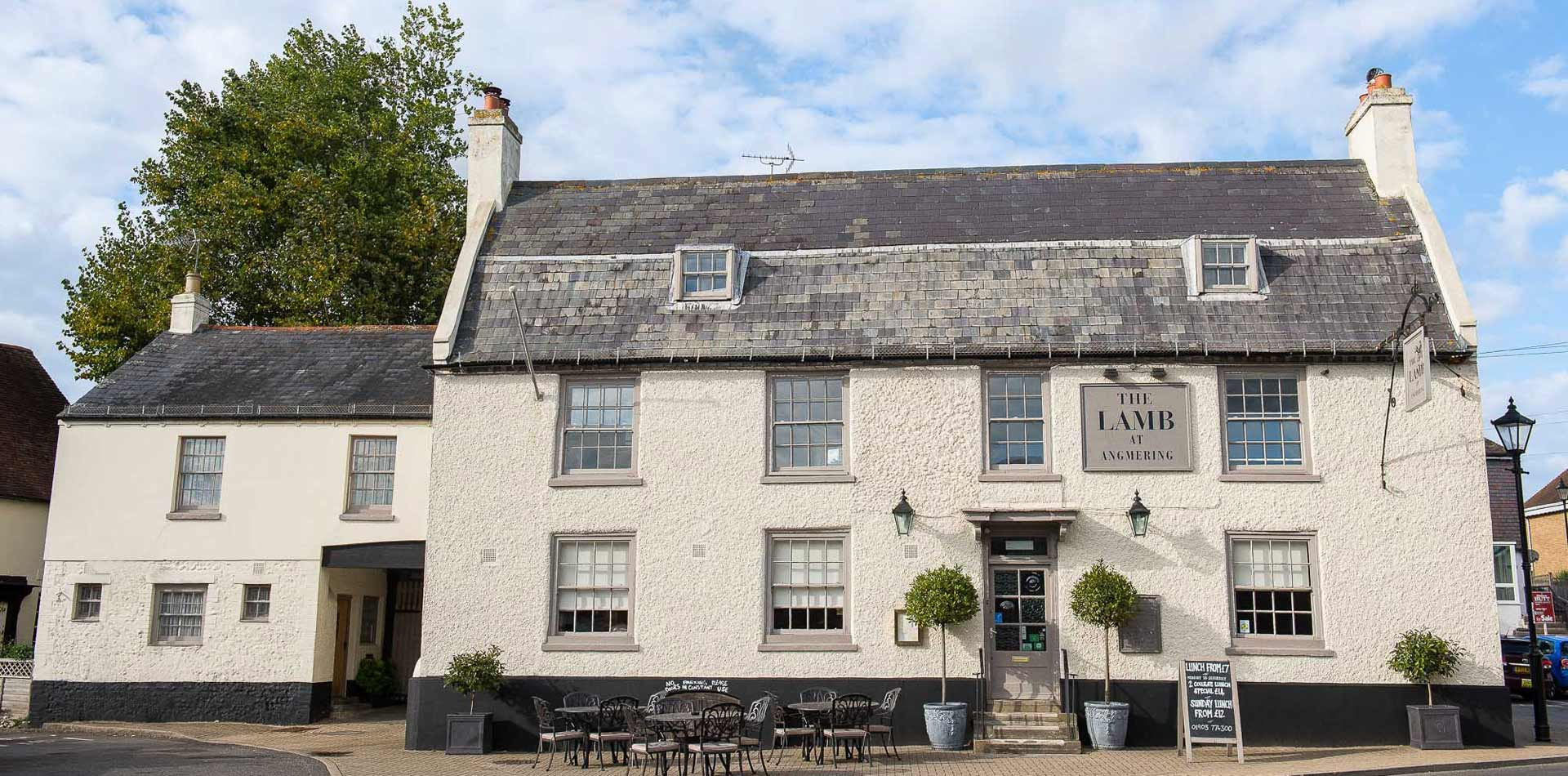 The Lamb at Angmering - Sussex Gastropub