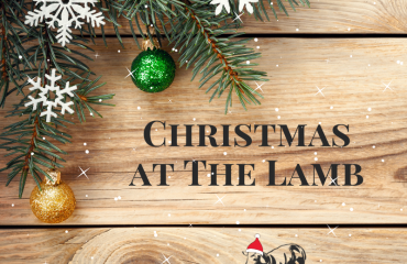 The Lamb Christmas Menu